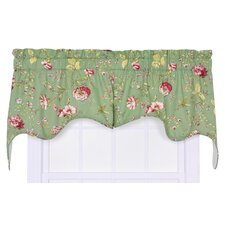 Coventry Cotton Blend Rod Pocket Swag Curtain Valance