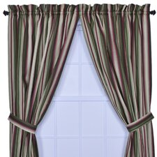 Montego Stripe Window Treatment Collection
