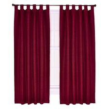 Crosby Insulated Tab Top Foamback Curtains Panel Pair