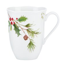 Winter Meadow Holly Mug