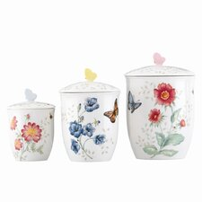 Butterfly Meadow Canister (Set of 3)