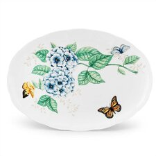 "Butterfly Meadow 16"" Oval Platter"