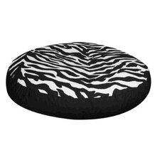 Black and White Zebra Dog Bed