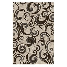 Lexington Champaign Small Swirl Rug