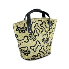 PB Paws & Co. Small Puppy Paws Tapestry Tote Bag
