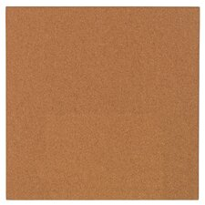 "14"" x 14"" Cork Modular Natural Frameless Bulletin Board"