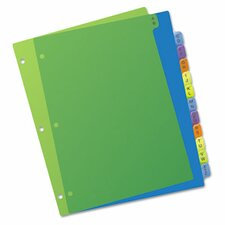 Preprinted Plastic Dividers
