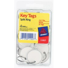 Split Ring Key Tag