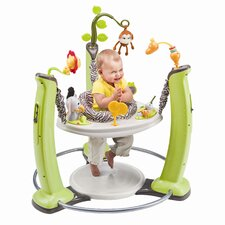 ExerSaucer Jump and Learn Stationary Jungle Quest Bouncer