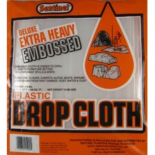 9' X 12' Sentinel® Deluxe Heavy Duty Embossed Drop Cloth DE91