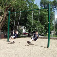 Single Post Swing Set