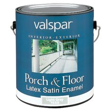 1 Gallon Light Grey Porch & Floor Latex Satin Enamel 27-1533 GL