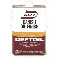 1 Quart Natural Deftoil Danish Oil Finish Clear