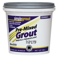 Pre Mixed Grout in Earth