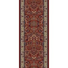 Gem Sarouk Red Rug