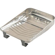 "9"" Bright Metal Paint Tray PT09030"