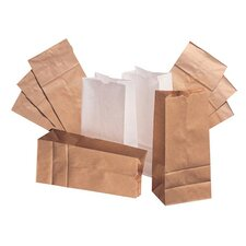 16 Kraft Paper Bag in Brown with 500 Per Bundle