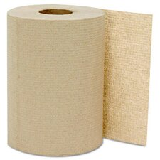 "8"" x 350' Kraft Hard-wound Roll Towels"