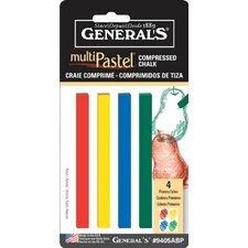 MultiPastel Compressed Stick (Set of 4)