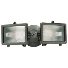 2 Lights Halogen Floodlight