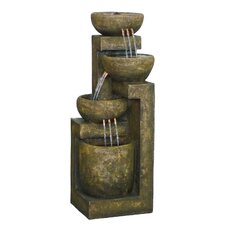 3 Tiered Pottery Fountain