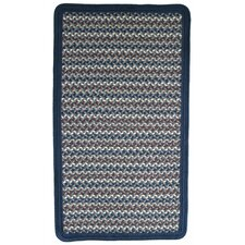 Green Mountain Lake Champlain Blue Multi Rug