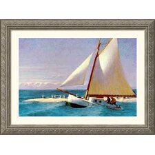 Martha Mckeen of Wellfleet Silver Framed Print - Edward Hopper