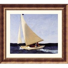 Sailing Bronze Framed Print - Edward Hopper
