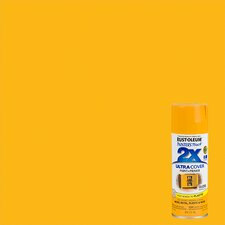 Painter's Touch® 2X™ 12 Oz Marigold Cover Spray Paint Gloss
