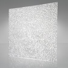 Cracked Ice Suspended Light Ceiling Panel