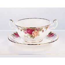 Old Country Roses 11 oz. Soup Cup