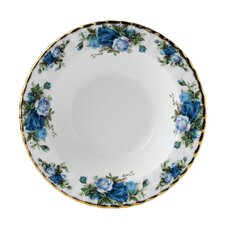 Moonlight Rose Rimmed Soup Bowl