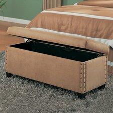 Brighton Microfiber Bedroom Storage Bench
