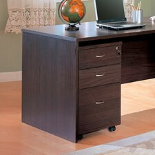 "Redondo Beach 27"" File Cabinet in Cappuccino"