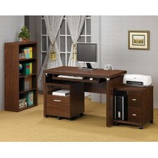 Castle Pines Standard Desk Office Suite