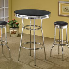 "Ridgeway 30"" Bar Table in Black"