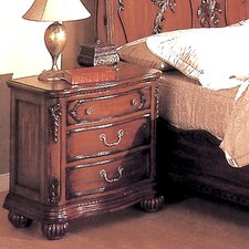 Richmond 3 Drawer Nightstand