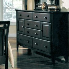 Giovanna 6 Drawer Combo Dresser