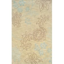 Lotus Beige/Brown Rug