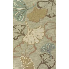 Lotus Green Multi Rug