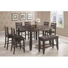 Corrigan 8 Piece Counter Height Dining Set