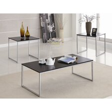 Refugio 3 Piece Coffee Table Set