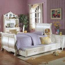 Pearl Sleigh Bedroom Collection