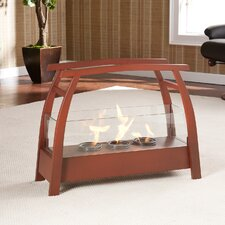Drexel Free-Standing Gel Fuel Fireplace