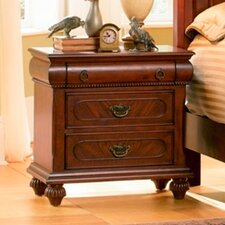 Isabella 3 Drawer Nightstand