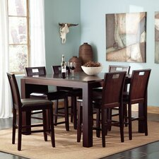 Beacon 7 Piece Counter Height Dining Set