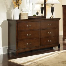 Tiffany 6 Drawer Dresser