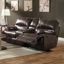Carlos Double Reclining Gliding Loveseat