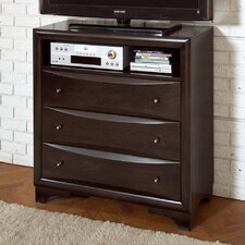 Corey 3 Drawer Media Chest