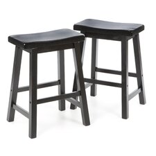 "Aloha 24"" Stool in Antique Black"